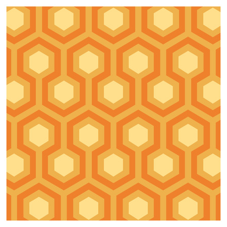 Vector background of seventies colorful wallpaper Banque d'images - 122016375