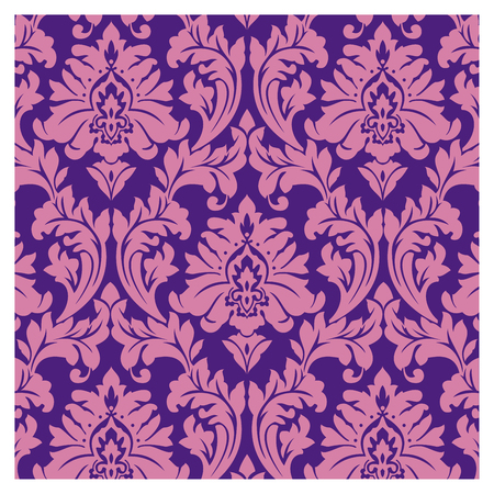 Background of baroque patterns on a wallpaper  Banque d'images - 122016111