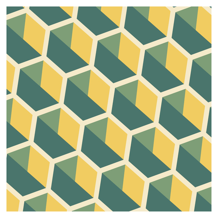 Background of cubic shapes on a wallpaper Banque d'images - 122016114