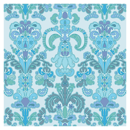 Background of baroque patterns on a wallpaper  Banque d'images - 122016137