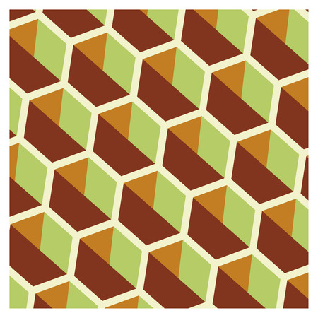 Background of cubic shapes on a wallpaper Banque d'images - 122016038