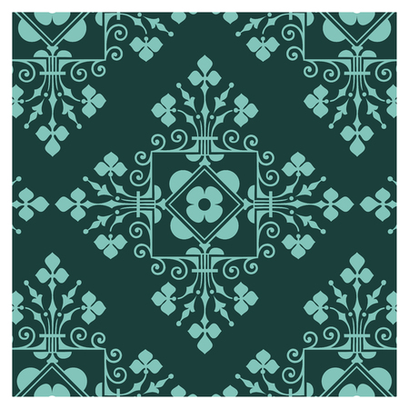 Graphic patterns on a wallpaper background Banque d'images - 122015669