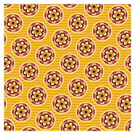 Graphic patterns on a wallpaper background Banque d'images - 122015681