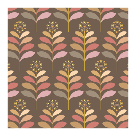 Vector background of seventies colorful wallpaper Banque d'images - 122015620