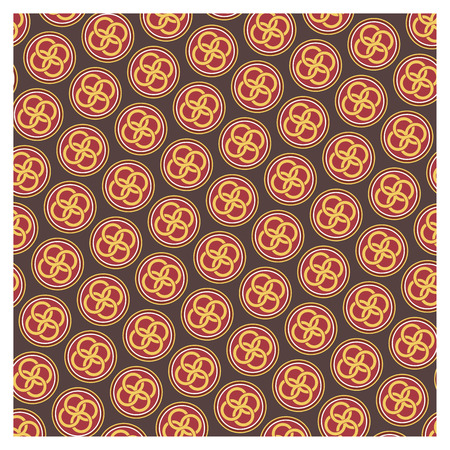 Background of baroque patterns on a wallpaper Banque d'images - 122015629