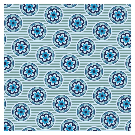 Graphic patterns on a wallpaper background Banque d'images - 122015529