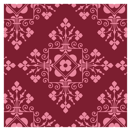Graphic patterns on a wallpaper background Banque d'images - 122015386