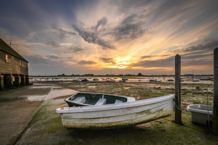 Low tide at Bosham quay