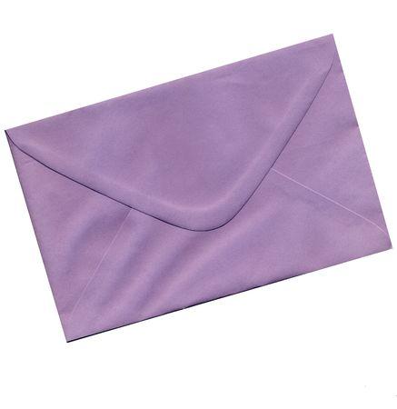 purple envelope photo