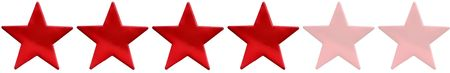 Four star rating Stock Photo - 5811912