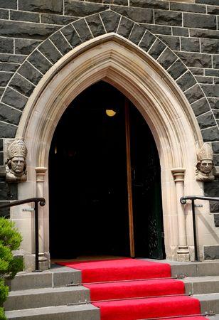 church archway photo