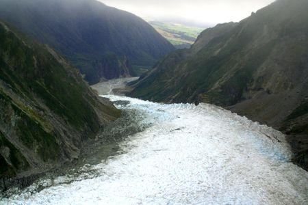 Fox Glacier in New Zealand photo