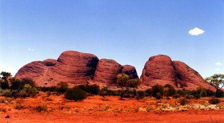 olgas: Olgas in North Territory, Australia