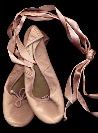 pink ballet shoes photo