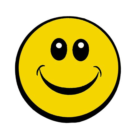 happy smiley face Stock Photo - 6848956