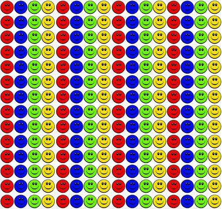happy smiley face Stock Photo - 6848959