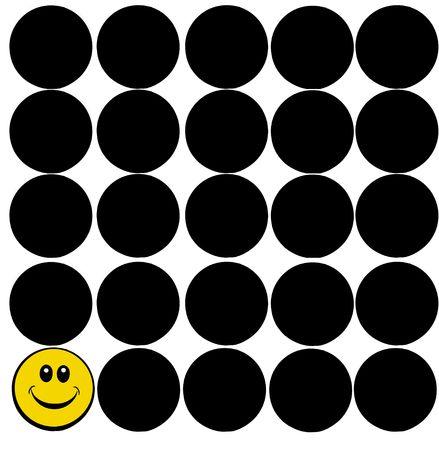 smiley face Stock Photo - 6848958