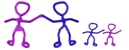 pipe cleaner people Stock Photo - 7566078