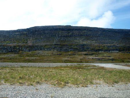 ruggedness: Way to Nordkapp North of Europe
