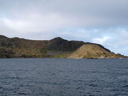 ruggedness: Porsanger fiordo nord della Norvegia Archivio Fotografico