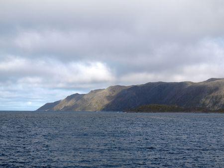 ruggedness:   Porsanger fiordo Norvegia settentrionale