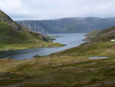severity:  Landscape northern Norway,Scandinavia     Stock Photo