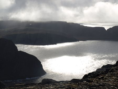 ruggedness:  View from North Cape Norway.
