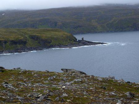 ruggedness:     Isola di Mageroya, Capo Nord, Norvegia