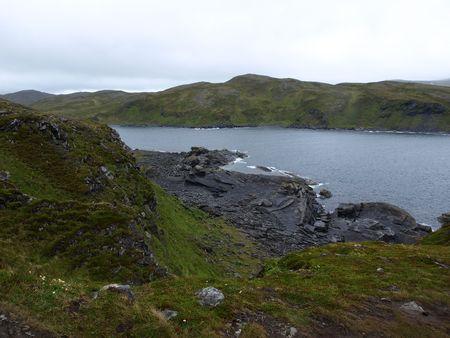 ruggedness: Paesaggio Norvegia settentrionale-North Cape
