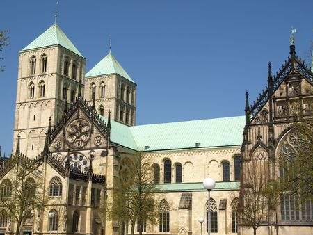munster: Saint Pauls Cathedral in Munster in Germany