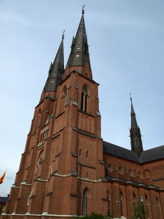 lutheran: Lutheran Cathedral in Uppsala, Sweden