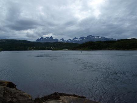 maelstrom: Norwegian landscape - Saltstraumen  near Bodo