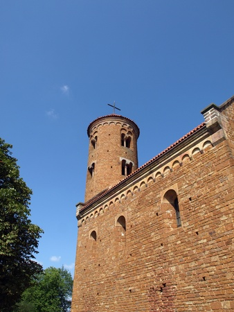 giles: Romanesque Church of St. Giles in Inowlodz ,Poland