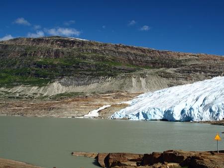 alpine zone: Saltfjellet Svartisen Glacier National Park in Norway Stock Photo