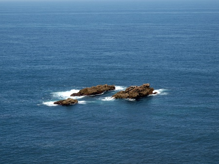 islet: The rocky islet on the northern coast of Spain