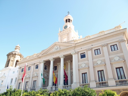 City Hall in Cadiz - Spain