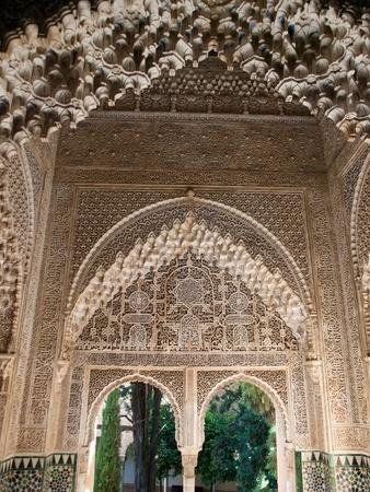 granade: Nasrid Palace-Alhambra ,Granada in Spain
