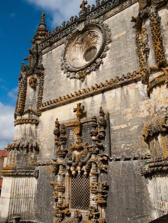 cristo: Richly decorated window Manueline style - Convento de Cristo, Tomar