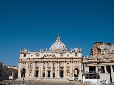 St Peter Basilica vatican Stock Photo - 15022941
