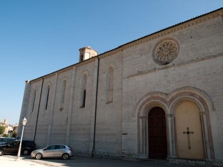 francis: St Francis Church in Gubbio,Italy