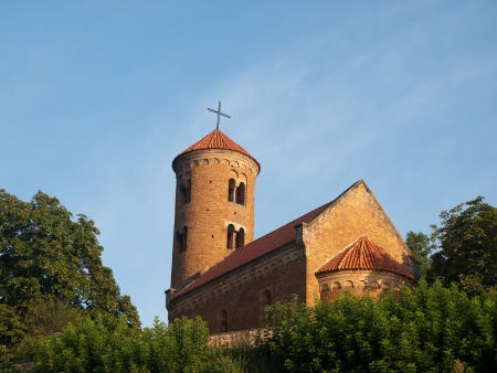 romanesque: Romanesque Church of St.Giles in Inwlodz Poland