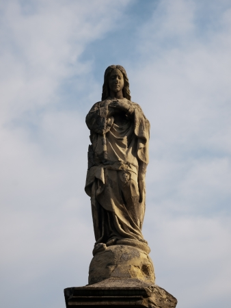 our: Stone statue of Our Lady
