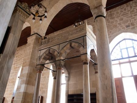 tarsus: Interno della Moschea Ulu a Tarso, in Turchia