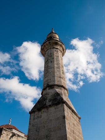 tarsus: Minaret  of Ulu Mosque in Tarsus ,Turkey