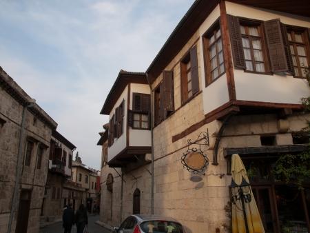 tarsus: Vecchie Tarso Case in centro citt�, in Turchia