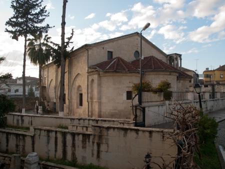 tarsus: Triple apse of  St Paul s Church in Tarsus
