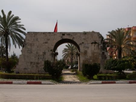 tarsus: Porta antica di Cleopatra a Tarso in Turchia Archivio Fotografico