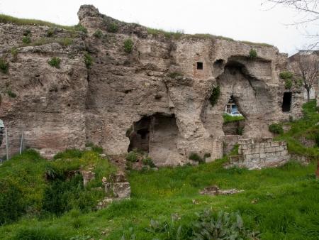 tarsus: The old roman baths  ruins in Tarsus Turkey