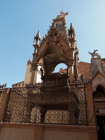 scala: Arca di Cansignorio della Scala,Verona Stock Photo