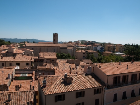 massa: View of Massa Marittima in Italy